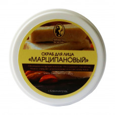 """СКРАБ ДЛЯ ЛИЦА """"МАРЦИПАНОВЫЙ"""" МАНУФАКТУРА БЕЛОТЕЛОВ"""